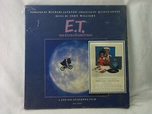 E-T-MICHAEL-JACKSON-SPECIAL-EDITION-33RPM-VINYL-RECORD-LP-POSTER-BOOK-SET-RARE