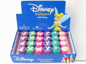 24-pc-Disney-Tinkerbell-Self-Ink-Stamps-Party-Favors-New-Free-US-Shipping