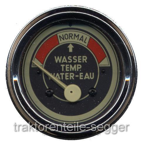 Fernthermometer MAN elektrisch Traktor Ackerdiesel Schlepper 219  Foto 1