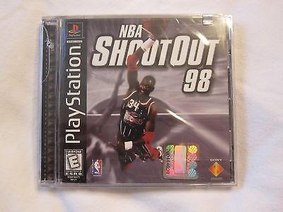 Nba Shootout 98 (playstation Ps1) Brand New, Sealed
