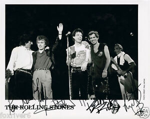 ROLLING-STONES-Signed-Photograph-Rock-Pop-Band