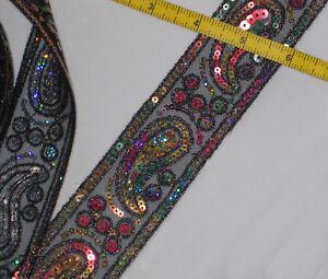 TRIM-2-Black-Net-Lace-Sequin-Embroidery-paisley-colors