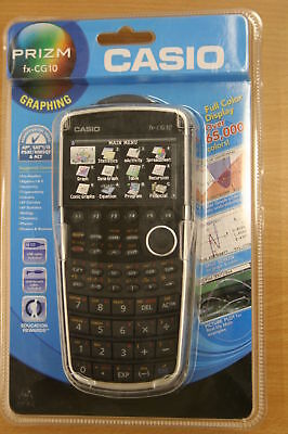 Casio Prizm Fx Cg10 Color Graphic Calculator Brand New