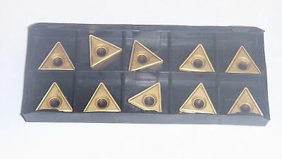New 10pcs Tt-321 Tin Coated Carbide Inserts