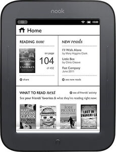 Barnes-Noble-NOOK-Simple-Touch-2GB-Wi-Fi-6in-Black-Brand-NEW-Bonus-4GB