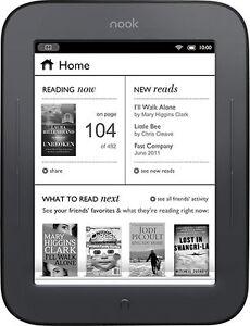 Barnes-Noble-NOOK-Simple-Touch-2GB-Wi-Fi-6in-Black-Brand-NEW-Bonus-4GB