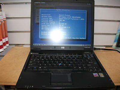 COMPAQ NC6220 LAPTOP- WORKING FOR PARTS/REPAIR-AS IS