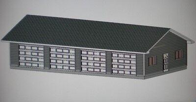 24' X 48' GARAGE SHOP PLANS MATERIALS LIST & BLUEPRINTS