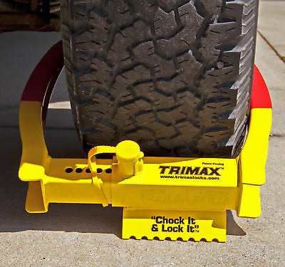 Trimax Boat Utility Trailer Wheel Lock Tcl75 Heavy Duty Boot Security Clamp 797824101524 Ebay