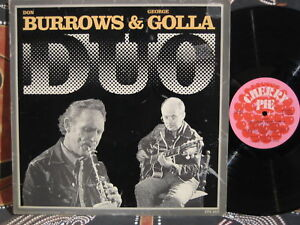 DON-BURROWS-GEORGE-GOLLA-Duo-1975-OZ-JAZZ-LP