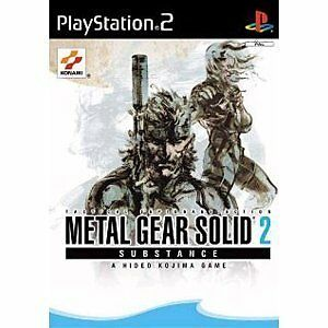 Metal Gear Solid 2: Substance PlayStation 2 PS2 B/New