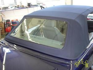 BMW E30 Cabrio Scheibe Heckscheibe blind verkratzt milchig oder undurchsichtig ?