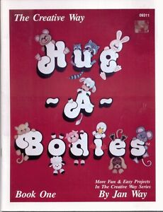 HUG-A-BODIES-By-JAN-WAY-THE-CREATIVE-WAY-BOOK-ONE