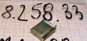 Quartz ( Crystal oscillator) 8258,33kHz ( 8,25833MHz ) [K1-44] - Wroclaw, Polska - Quartz ( Crystal oscillator) 8258,33kHz ( 8,25833MHz ) [K1-44] - Wroclaw, Polska