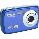 Vivitar ViviCam 7022 7.1 MP Digital Camera - Blueberry
