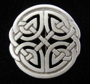 Celtic Jewelry Celtic Knot Brooch SCA LARP 0659