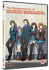 The Disappearance of Haruhi Suzimiya (DVD, 2011)