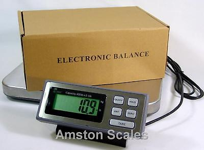 400 x 0.1 LB SHIPPING SCALE 14 x 16 STEEL TRAY POSTAL POSTAGE UPS FEDEX USPS on Rummage