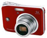 GE A950 9.1 MP Digital Camera - Red
