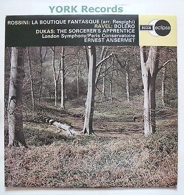 ECS 529 - ROSSINI - La Boutique Fantasque - Ex Con LP