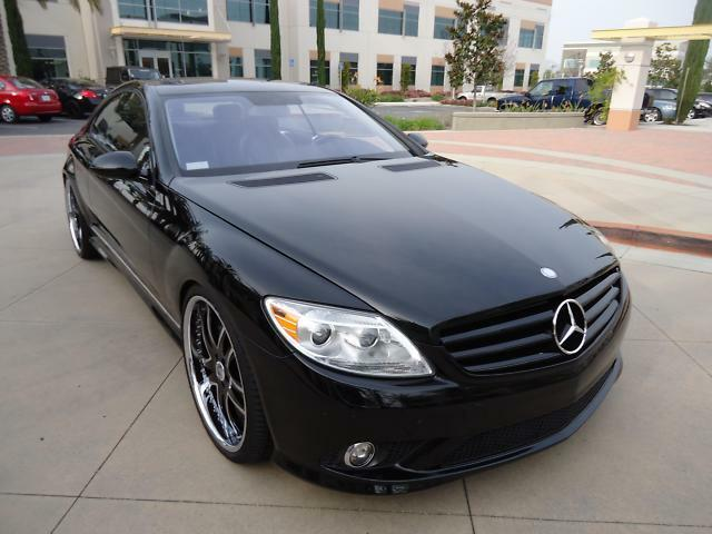 2007 mercedes benz cl550 amg sport pkg asanti 22 rims for 2007 mercedes benz cl550 for sale