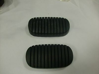 1955 1956 1957 Chevy Pontiac Car Standard Brake , Clutch Pedal Pads Pair