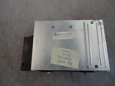 ECM Computer with Bracket 84 Pontiac Trans Am Firebird OEM