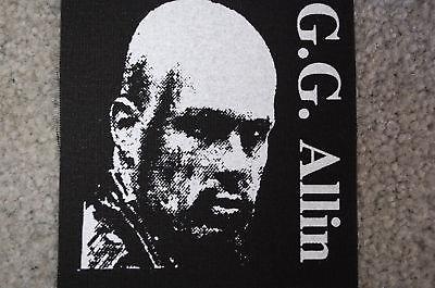 GG Allin Cloth Patch (CP35)