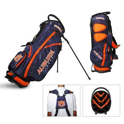 Auburn University Team Golf Fairway Divider Stand Bag Ncaa + Free Bonus