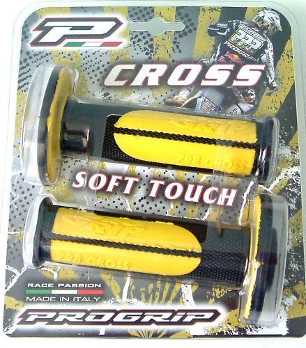 Pro Grip Yellow GEL grips  Suzuki RM125/250 RMZ250/450  Progrip 798