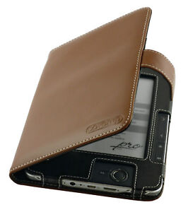 PocketBook Pro 602 / 603 / 612 Brown Leather Cover Case
