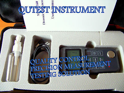 Used, Digital Ultrasonic Thickness Gauge Steel Glass PVC Plus 2-point CAL Scan Mode for sale  Shipping to Nigeria