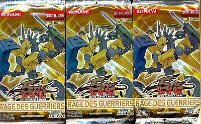 Yu Gi Oh 3 Boosters Rage Des Guerriers