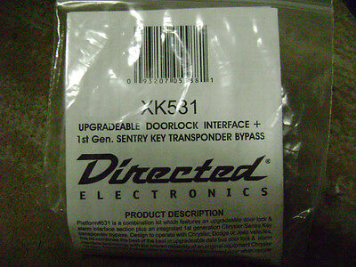 Dei Xk531doorlock Interface & Transponder Bypass (new)