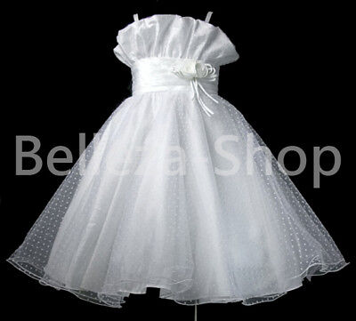 Wedding Flower Girls Party Pageant Dress Size 2T-10 on Rummage