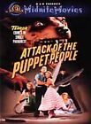 Attack of the Puppet People (DVD, 2001, Midnite Movies)