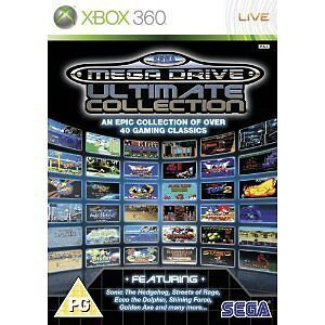 SEGA Mega Drive: Ultimate Collection Xbox 360 Brand New