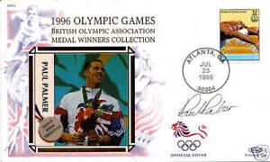 1996-ATLANTA-OLYMPIC-GAMES-PAUL-PARKER-BENHAM-SIGNED-COMMEMORATIVE-COVER