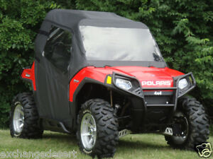 FULL-CAB-Enclosure-w-Clear-Lexan-Windshield-Polaris-RZR-570-800-900-S-UTV