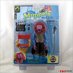 Muppets-Palisades-Clifford-Series-6-figure-henson-sticker-residue-red-chair