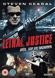 Lethal Justice (DVD, 2011)