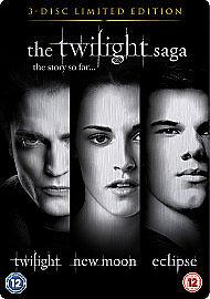 Twilight Saga Triple  Twilight  New Moon  Eclipse DVD 2010 3Disc Set - Rhyl, United Kingdom - Twilight Saga Triple  Twilight  New Moon  Eclipse DVD 2010 3Disc Set - Rhyl, United Kingdom