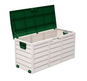 Garden Storage Box, Chest,Cushion Box, Plastic ,Wheels