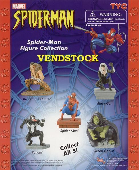 Marvel Spiderman Mini Figure Series 1 Cake Toppers