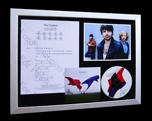 BIFFY-CLYRO-Captain-LIMITED-Numbered-CD-FRAMED-DISPLAY