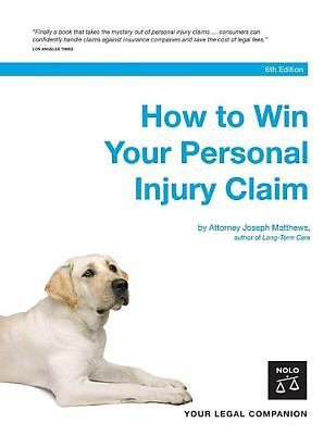 How to Win Your Personal Injury Claim-ExLibrary 1