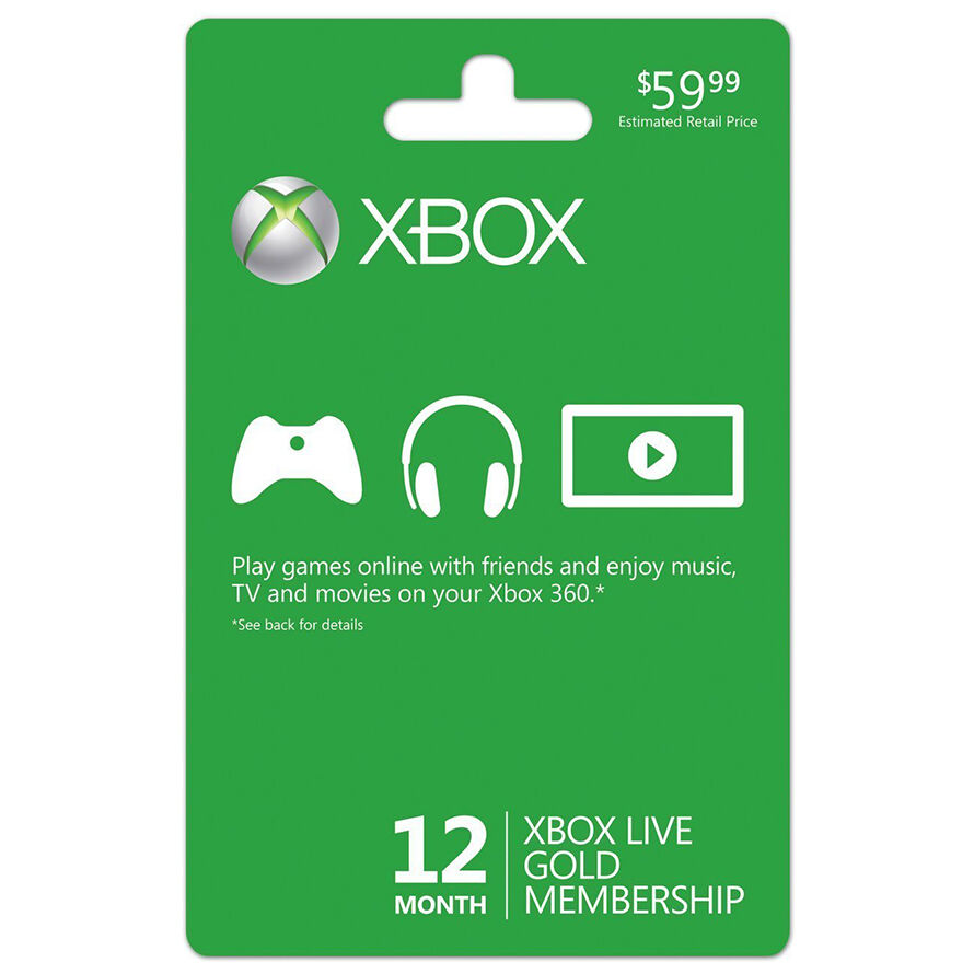 And remember xbox live gold is more than just great deals on games - How To Buy An Xbox 360 Live Gold Membership