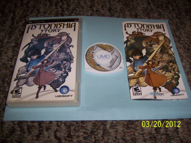 Astonishia Story  (PlayStation Portable, 2006) COMPLETE