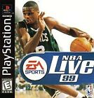 NBA Live '99  (Sony PlayStation 1, 1998) (1998)