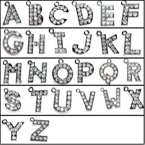 5-pieces-14mm-Alphabet-Letter-Alloy-Charm-Pendants-Variety-of-Alphabet
